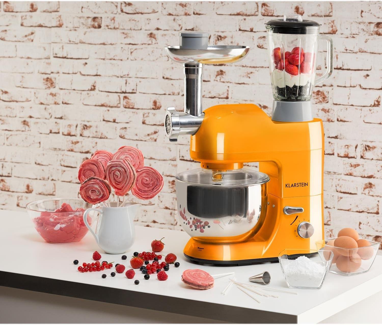 Für einen nostalgischen Look bietet sich eine Retro Küchenmaschine an (Die besten 7 Modelle 2021)