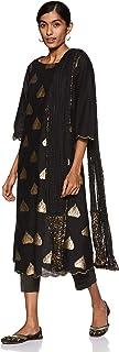 BIBA Women's A Line Salwar Suit Set