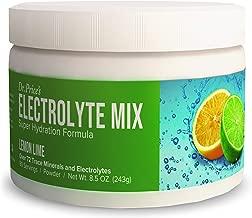 Electrolyte Mix Supplement Powder, 90 Servings, 72 Trace Minerals, Potassium, Sodium, Electrolyte Replacement Keto Drink | Lemon-Lime Flavor | Dr. Price's Vitamins, No Sugar, Vegan, Non-GMO
