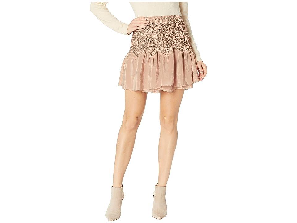 Frye Cara Skirt (Blush) Women