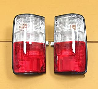 89 90 91 92 93 94 Toyota Hilux Mk3 Ln Rn Pickup Tail Rear Light Lamp Clear Red Lens