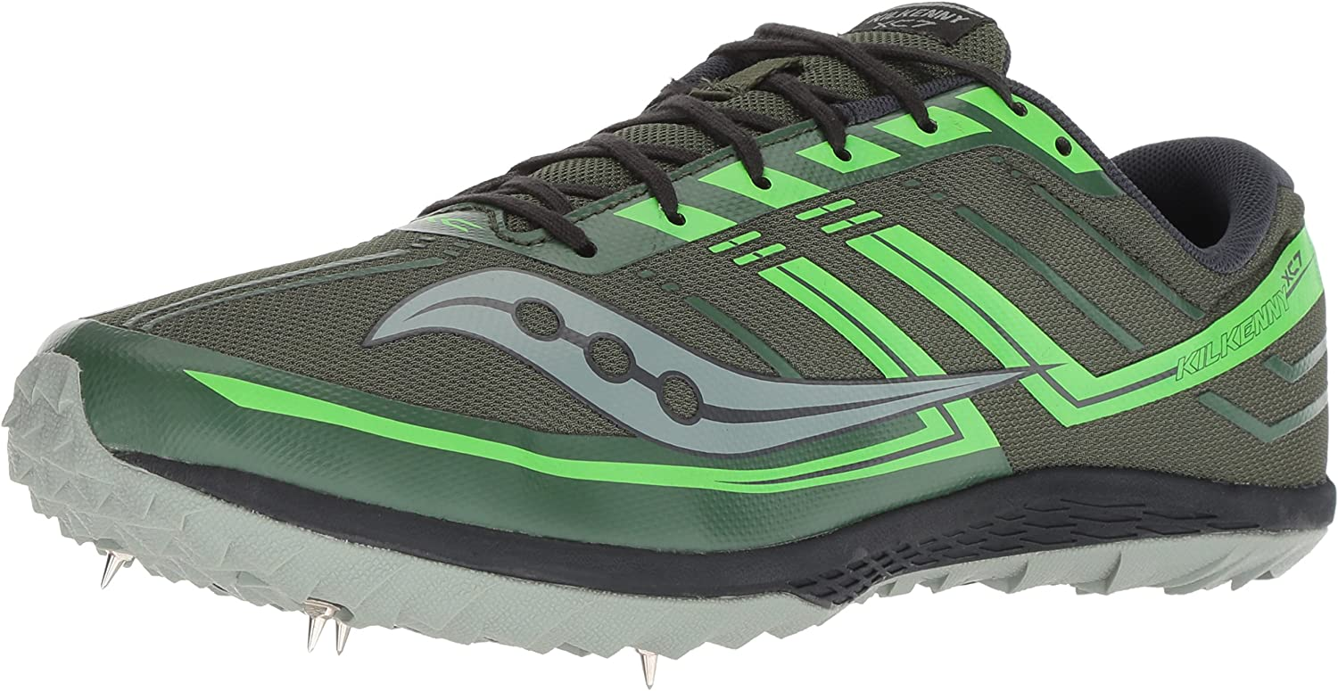 Saucony Hommes's Kilkenny XC7 Track chaussures, vert Slime, 7.5 M US