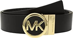 MICHAEL Michael Kors Smooth Leather Reversible Belt