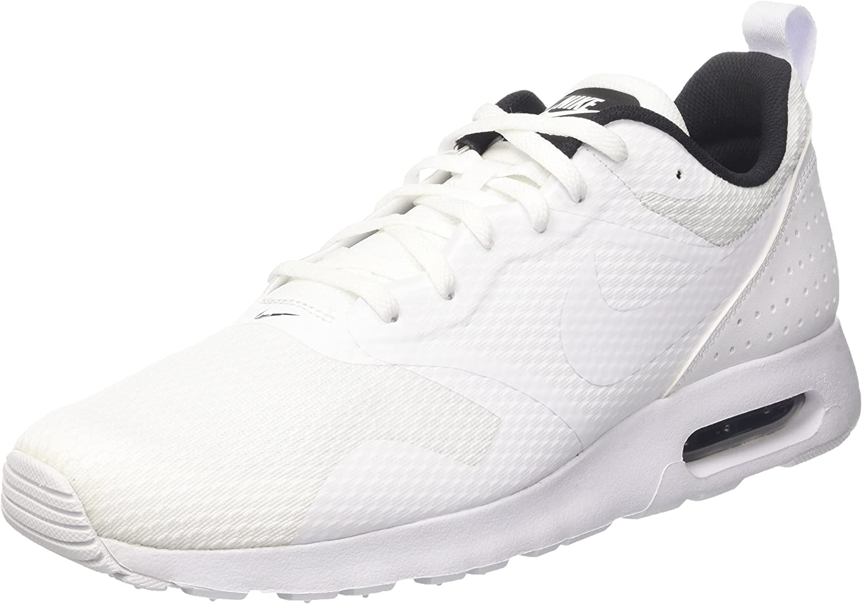 Nike Men's Air Max Tavas White White Black Running shoes 7 Men US