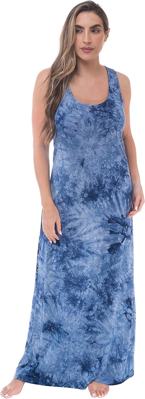 Just Love Womens Stripe Maxi Dress Jersey Knit 100% quality warranty Cheap Tank for Wo