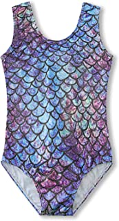 AIDEAONE الجمباز ثوب الرقص البراق للبنات وحدات الرقص قطعة واحدة ملابس رياضية ملابس رياضية ملابس رياضية ملابس عملية 3-8 سنوات