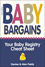 Baby Bargains: 2019 update! Your Baby Registry Cheat Sheet