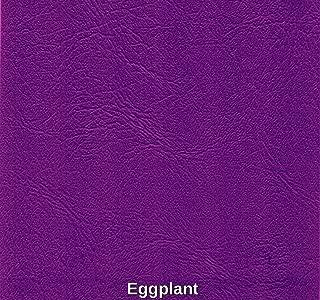Marine Vinyl Waterproof Eggplant 54 Inch Fabric By the Yard Sold (Luvfabrics)