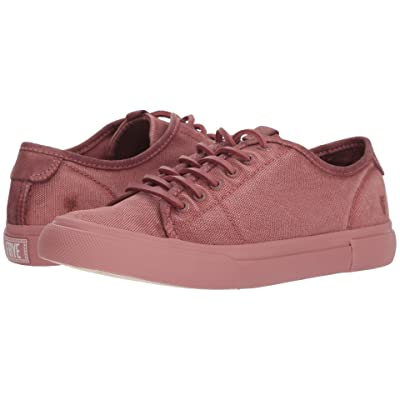 Frye Gia Canvas Low Lace (Dusty Rose Canvas/Smooth Full Grain/Nubuck) Women