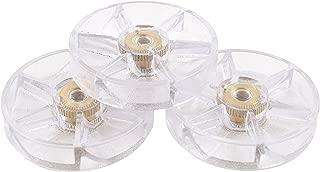 Nutribullet Blender Top Gear (Pack of 3) | Three Premium Boder Plastic Replacement Gears for Pro 900 Watt or 600 Blenders