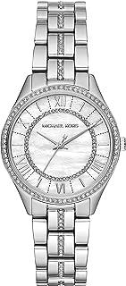 ساعة انالوج ستانلس ستيل بمينا من عرق اللؤلؤ من مايكل كورس لورين - MK3900