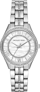 Michael Kors Womens Quartz Watch, Analog Display and Stainless Steel Strap MK3900