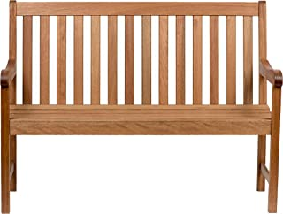 Amazonia Milano 4-Feet Eucalyptus Bench
