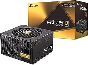 Seasonic FOCUS 750 Gold SSR-750FM 750W 80+ Gold ATX12V & EPS12V Semi-Modular 7 Year Warranty Compact 140 mm Size Power Supply