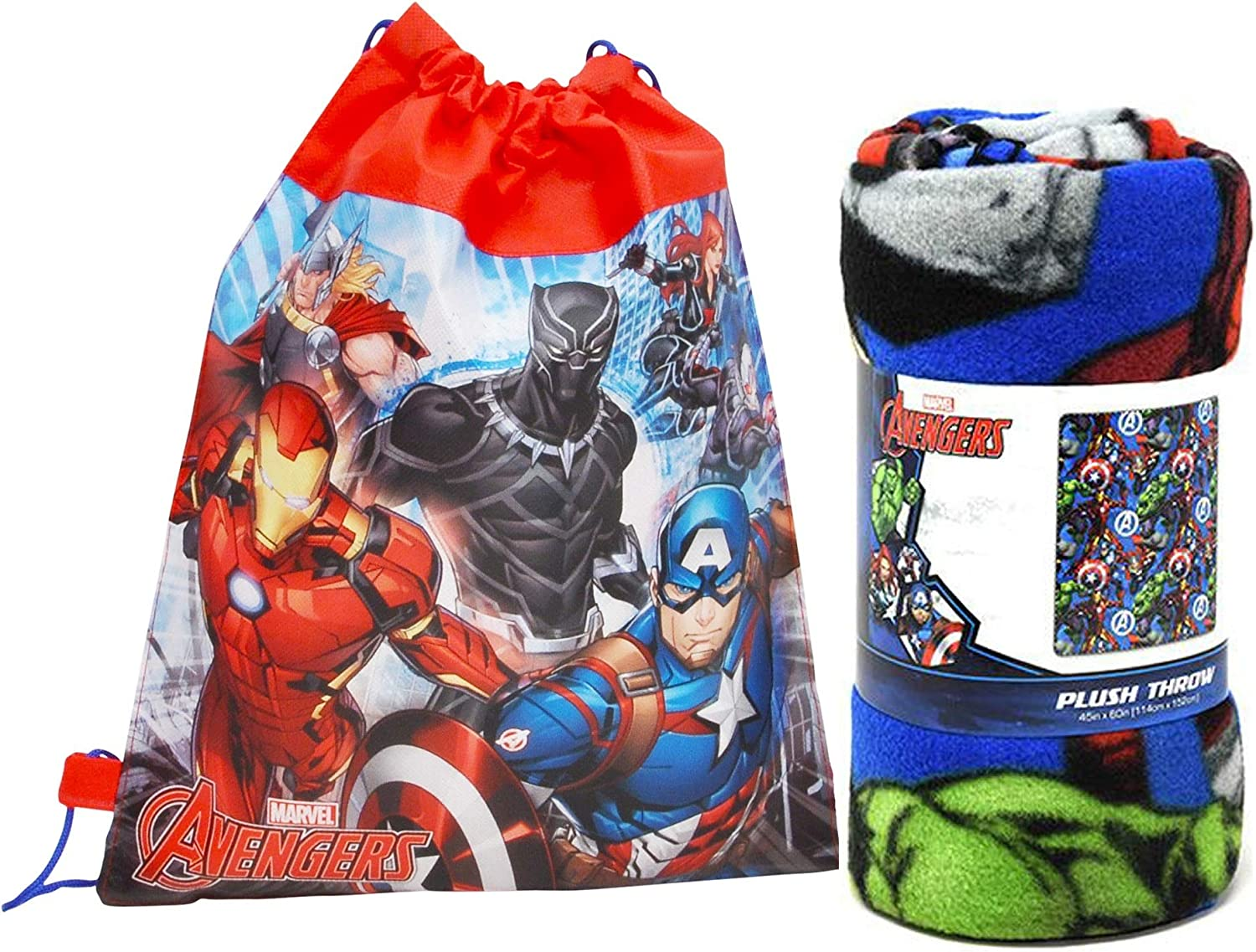 Marvel Northwest Courier shipping free Fleece Throw Blanket and pc 2 Superior Bag Sling - Tote
