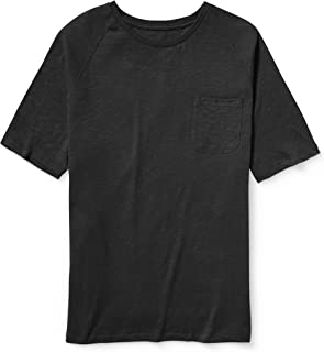Amazon Essentials Men's Big & Tall Short-Sleeve Slub Raglan Crew T-Shirt fit by DXL
