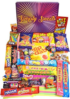 Simply Sweets Retro Sweet Hamper Gift Box. Packed with The Best Retro Sweet. A Perfect Present for Birthdays, Get Well Soo...