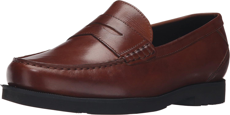 Rockport Herren Moderne Prep Penny Schuhe, 46.5 EU, Dk Tan