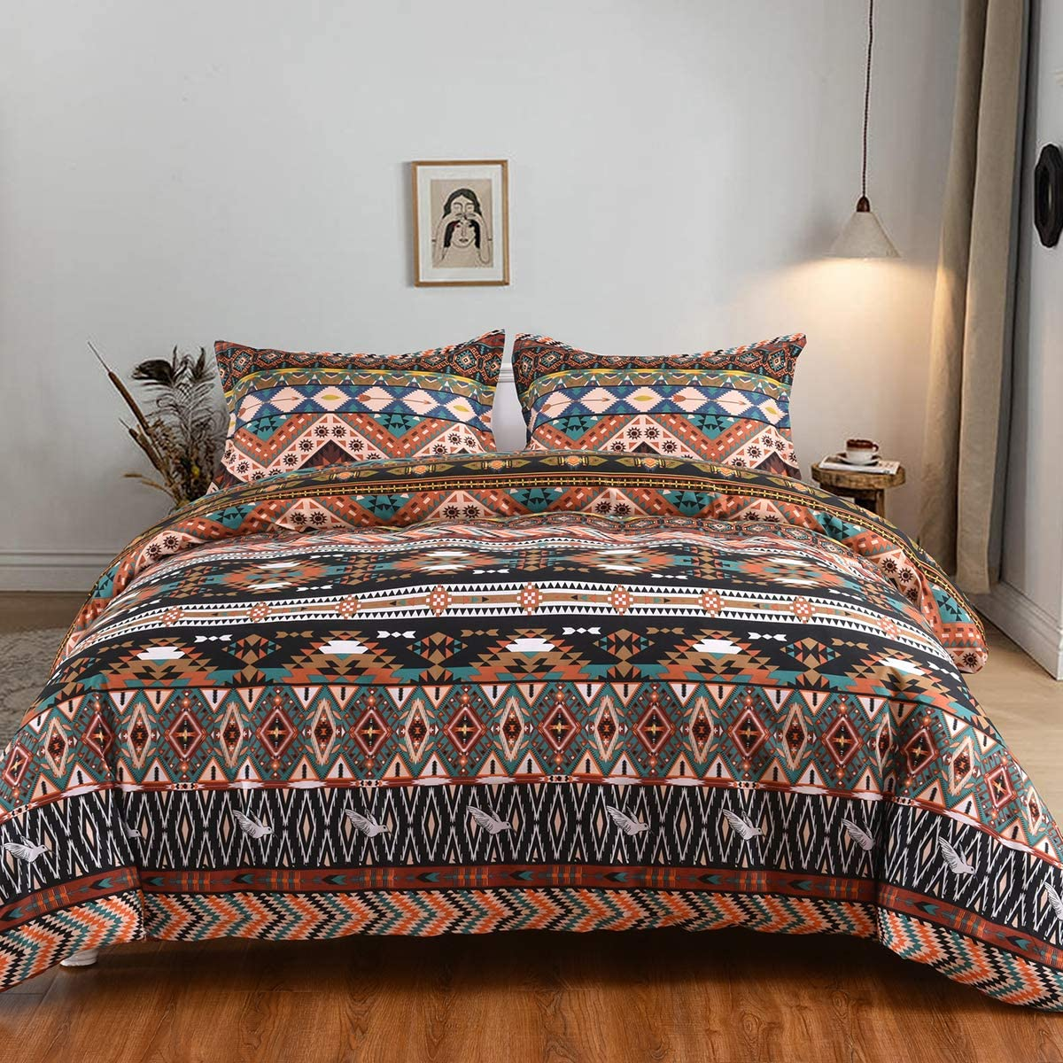 Mefinia Boho Bedding Duvet Challenge the lowest price of Japan Cover Popular Set X Zipper Closure 104 with