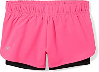 """Starter Girls' 3"""" Two-in-One Running Short, Amazon Exclusive"""