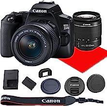 Canon EOS 250D / Rebel SL3 Cámara DSLR con lente 0.709-2.165in F/3.5-5.6 III