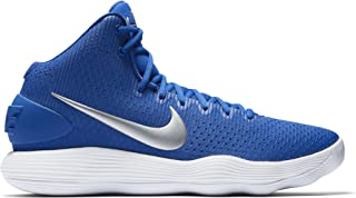 Men's Hyperdunk 2017 TB Basketball Shoe Game Royal/Metallic Silver/White Size 14 M US