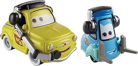 Disney Cars Cast 1:55 - Selección Modelos de Vehículos Sort.2, Cars 2013+14:Luigi & Guido Headsets