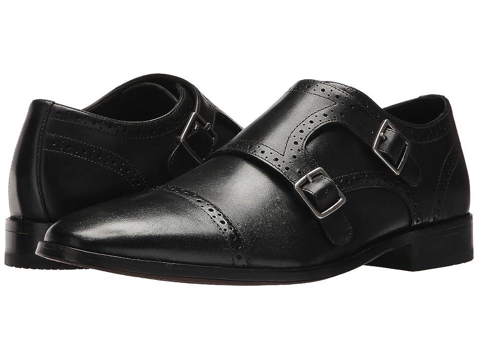 Bostonian Nantasket Monk (Black Leather) Men