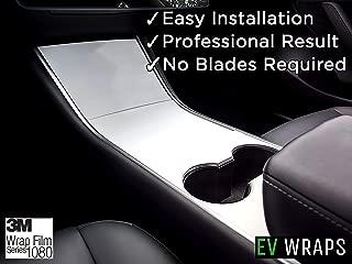 EV Wraps Tesla Model 3 Center Console Wrap - Tesla White