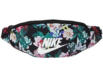 Nike Heritage Hip Pack-All Over Print Femme (Black/Black/Sail) Bags