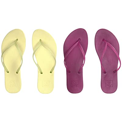 Reef Escape Lux 2-Pair Variety Pack (Margarita (Lime & Raspberry)) Women