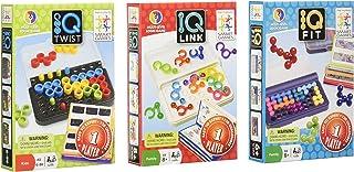 SmartGames IQ 3-Pack - IQ Twist, IQ Fit, IQ Link