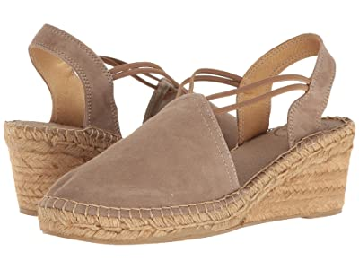 Toni Pons Tremp (Taupe Suede) Women