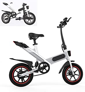 Fafrees Bicicleta Eléctrica Plegable con Pedales, Bicicleta