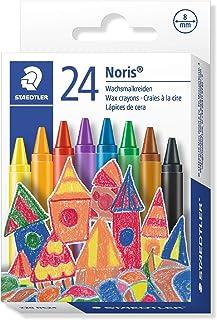 STAEDTLER 220NC24 - Caja con 24 lápices plásticos y de cera