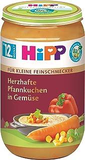 HiPP Bio Für kleine Feinschmecker Menüs Herzhafte Pfannkuc