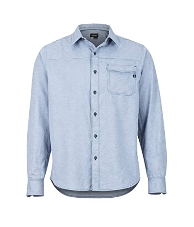Marmot Tumalo Long Sleeve Shirt (Arctic Navy) Men