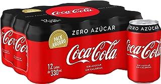 Coca-Cola Zero Azúcar Lata - 330 ml (Pack de 12)