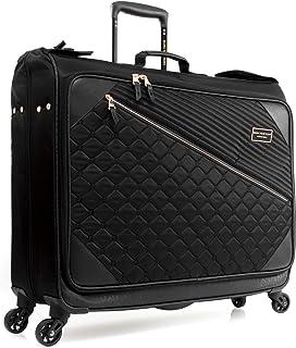 Marc New York by Andrew Marc Mulsanne Wheeled Garment Bag, Black (Black) - HL064MS7