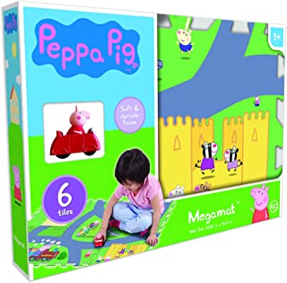 Peppa Pig CO-68021C Mega Floor Mat with Vehicle, (Pack of 7), Multicolor