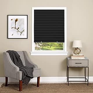 Achim Home Furnishings Cordless 1-2-3 Vinyl Room Darkening Pleated Window Shade, 48