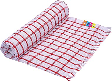 HOME CHOICE Cotton Bath Towel (Set Of 2, Multicolour)