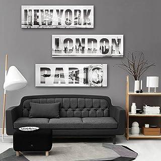 RUNDESHEBEI Y&M Triple-dekorative Malerei, Rahmenlos Gemälde, dekorative Malerei Malerei Malerei das Wohnzimmer Flur, 24  70cm B072QB9X65  Verpackungsvielfalt 595c7d