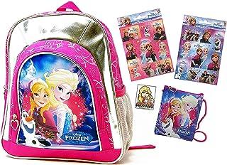 Disney - Kraina Lodu - plecak przedszkolny / torba przedszkolna - do pojemnika na kanapki, butelki do picia, plecak przeds...