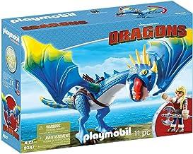 PLAYMOBIL DreamWorks Dragons Astrid y Tormenta, A partir de 4 años (9247)