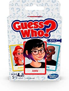 Hasbro Gaming Classic Card Game Guess Who