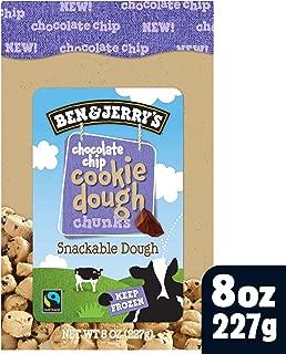 Ben & Jerry's Dough Chunks Chocolate Chip Cookie Dough, 8 oz (frozen)