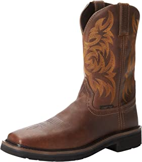 Boots Men's Stampede Square Toe Composite Work Boot