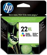 HP C9352CE 22XL Cartucho de Tinta Original de alto rendimiento, 1 unidad, tricolor (cian, magenta, amarillo)