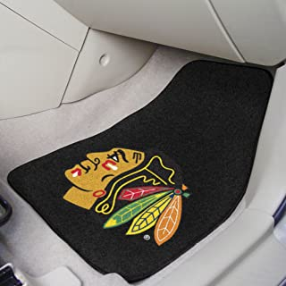 Fanmats Chicago Blackhawks Automotive Floor Mat - 2 Pack